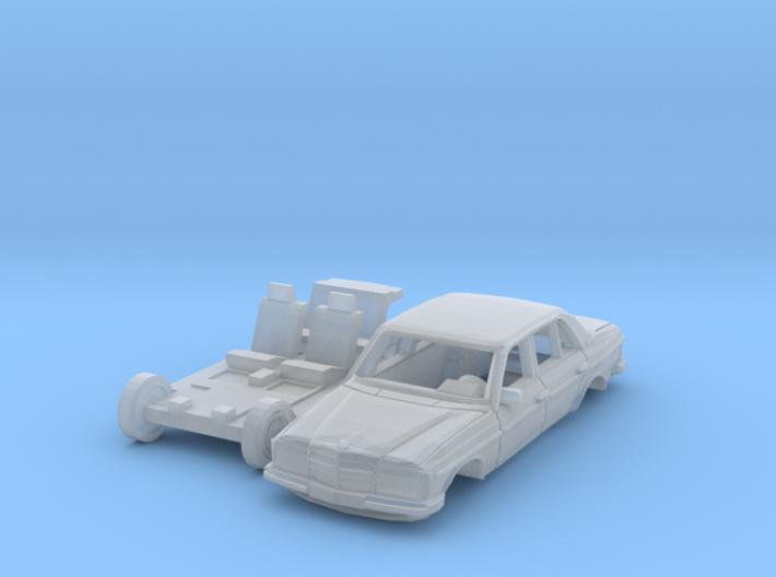 Mercedes-Benz W123 (TT 1:120) 3d printed