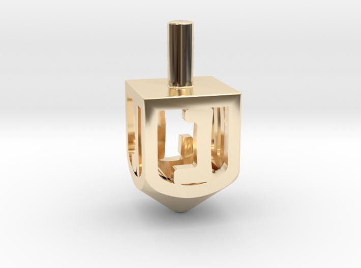Dreidel (Spinner) 3d printed