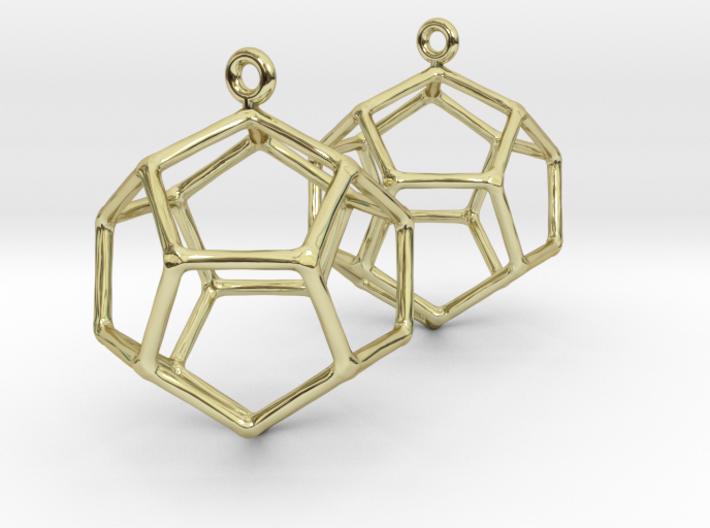 Heaven earrings 3d printed