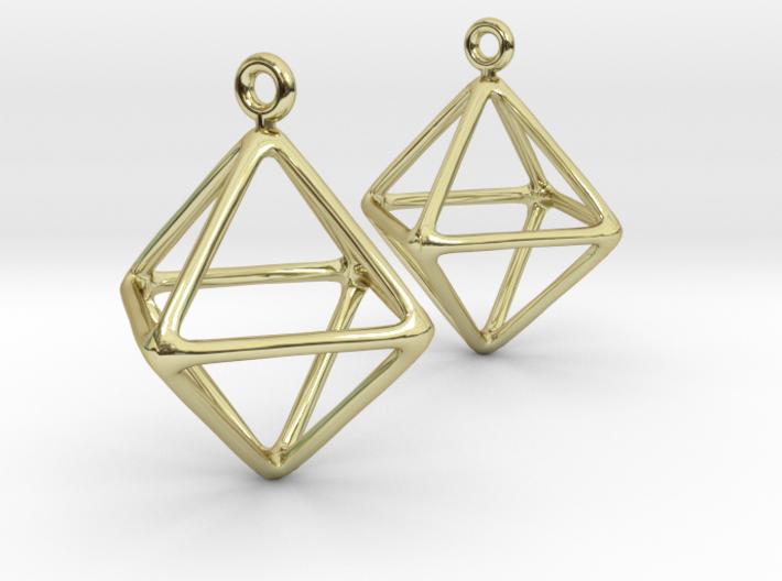 Air earrings 3d printed