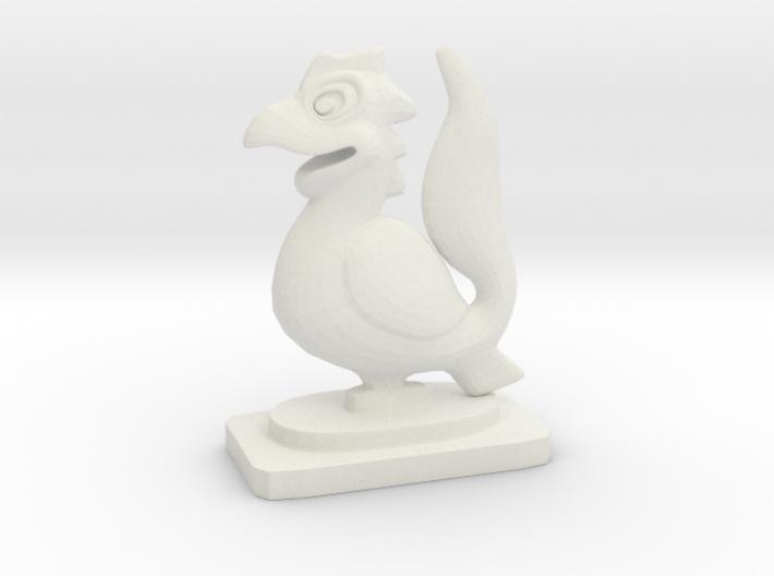 Indian Mini Desktop Statue (Yali) 3d printed