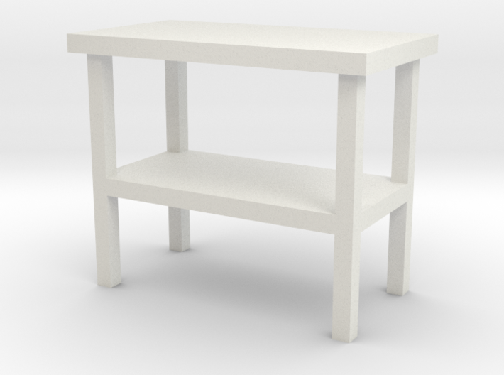 1:48 Simple Side Table 3d printed