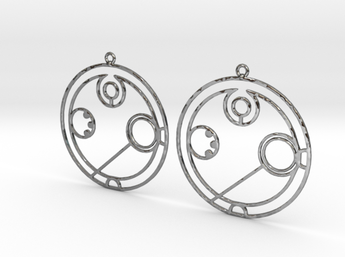 Annabel - Earrings - Series 1 3d printed