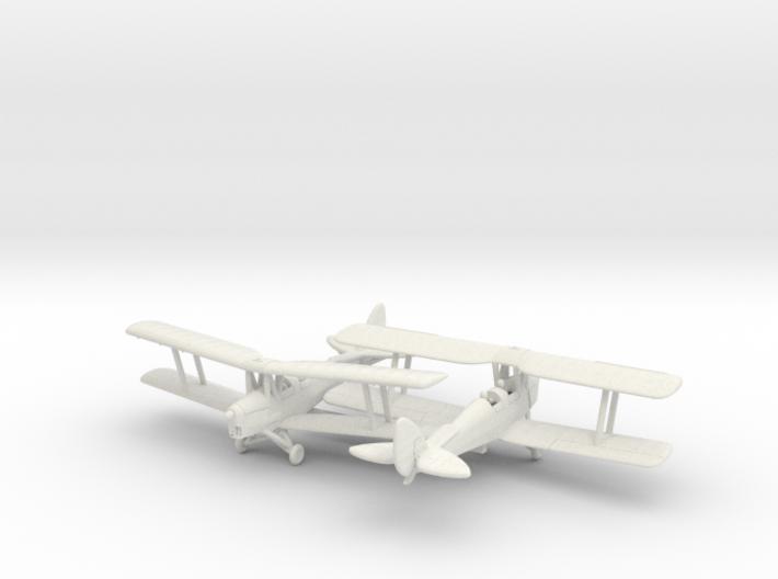 1/200 de Havilland DH82 Tiger Moth 3d printed