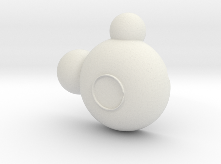 Mickey Bowl 3d printed
