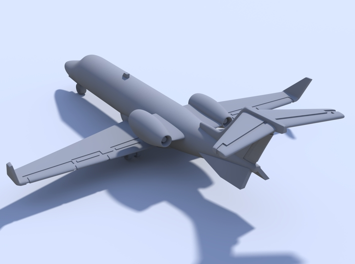 1:500 - Learjet_45 [Assembled] 3d printed