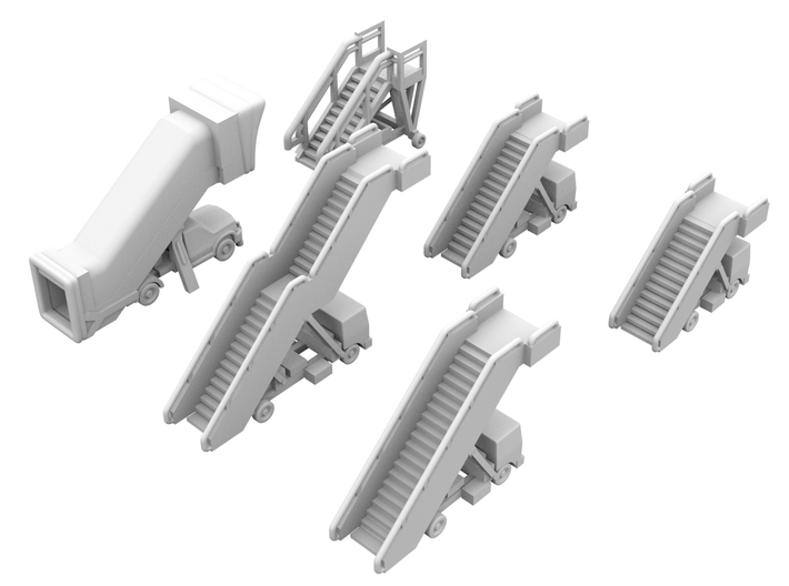 1:500 - Airstairs_v1,2,3,4,5 & 6 [x1] 3d printed