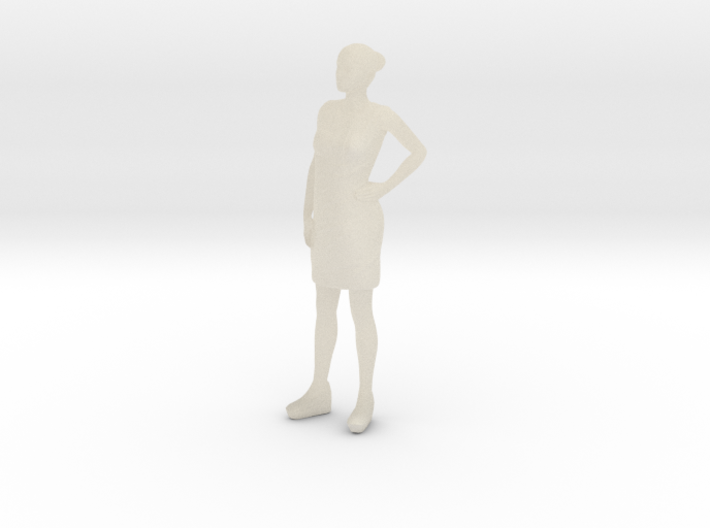 Woman Standing 16th 3d printed