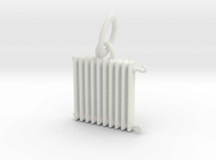 HH - Radiator Necklace Pendant -v2 3d printed