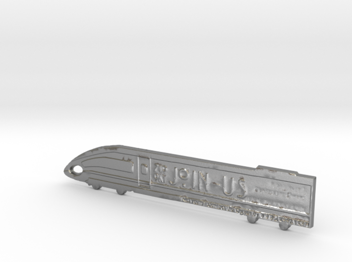 ZWOOKY Style 29 Sample - Train keyring 3d printed