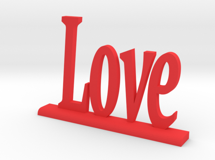"""Letters 'Love' 7.5cm / 3"""" 3d printed"""