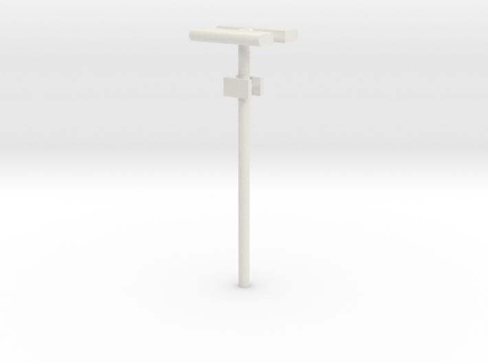 DSB Stations lampe (dobbelt) med lille undertavle  3d printed