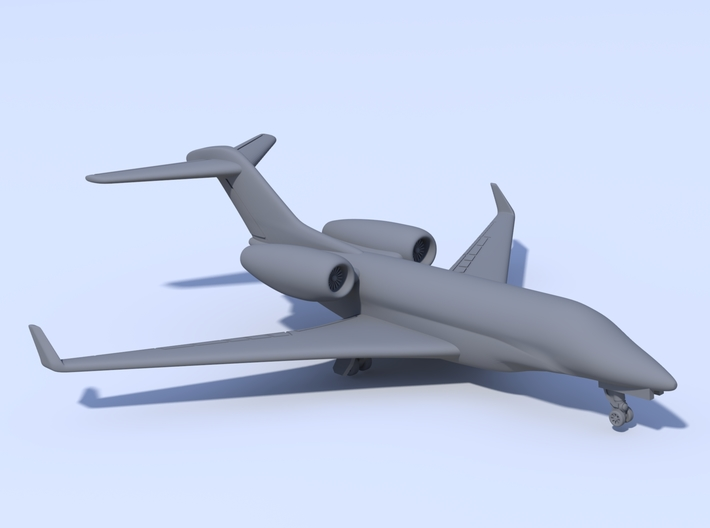 1:500 - Cessna_Citation_X [Assembled] 3d printed