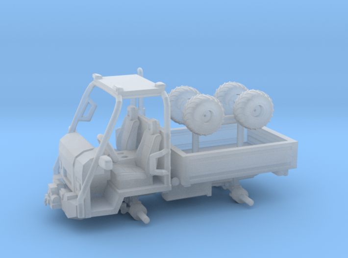 1/87 Scale Grillo-ish PK400 Utility Truck 3d printed