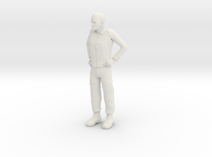 Guy standing 1/29 scale 3d printed