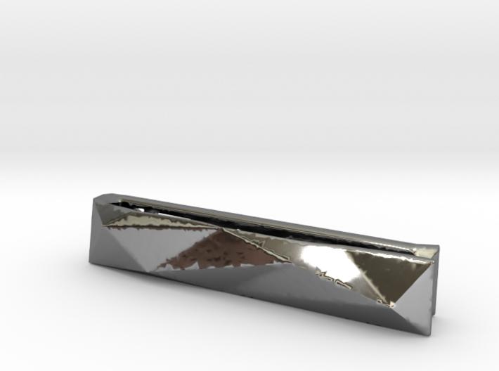 Origami Tie Clip 3d printed