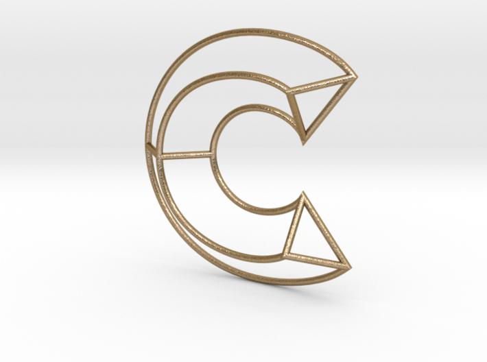 C Typolygon. 3d printed