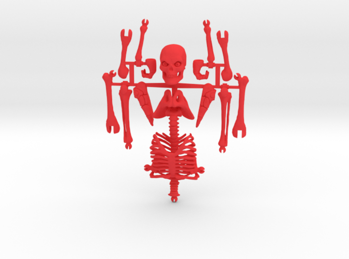 Articulated Skeleton Large  3d printed