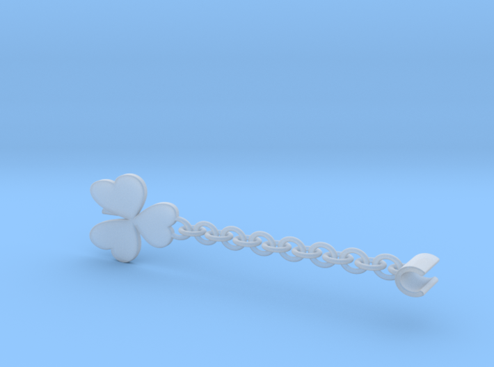 Earpod Earrings | Shamrocks 3d printed