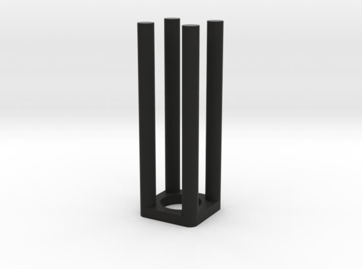Epi Tube Holder/adapter for fluorometer cuvette 3d printed