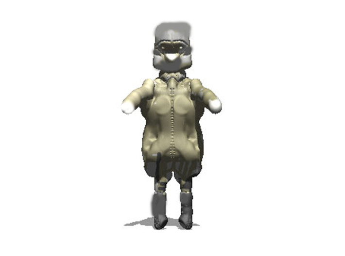 Ned Kelly 3d printed painted render what it could look like