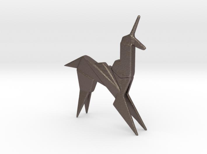 Origami Unicorn 3d printed