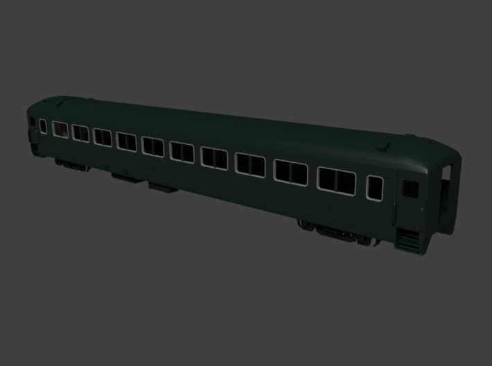 New Haven lwt. coach, Suburban 8270 series 3d printed Rendered in Blender