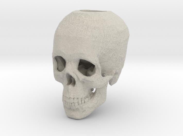 Skull Candle Holder 3d printed