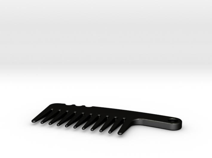Mini Beard Comb 3d printed