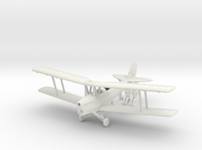 1/144 de Havilland DH82 Tiger Moth (alt. Tail) 3d printed