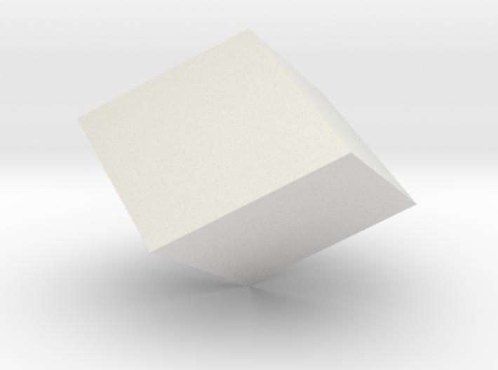 Rhombohedron 3d printed