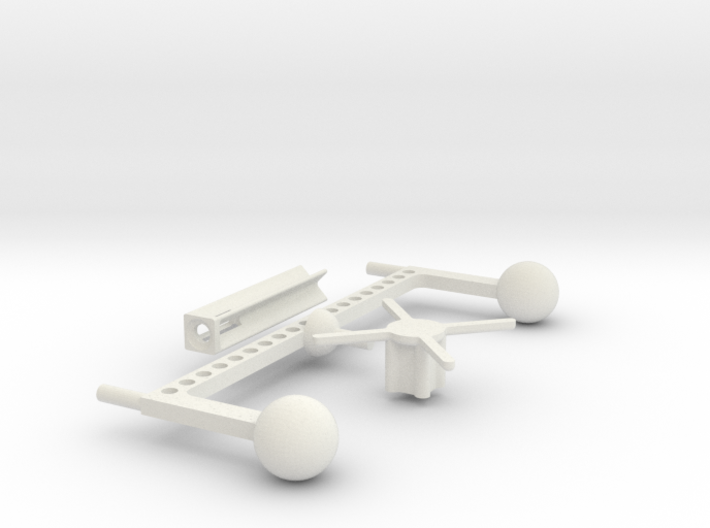 Mobile Stand (for 2 Gee Bee Racers) 3d printed