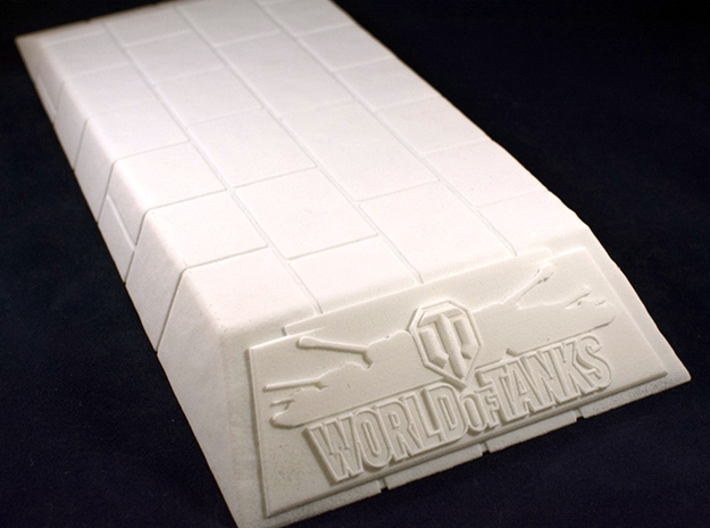 1:35 World of Tanks stand for miniatures 3d printed Photo of printed model
