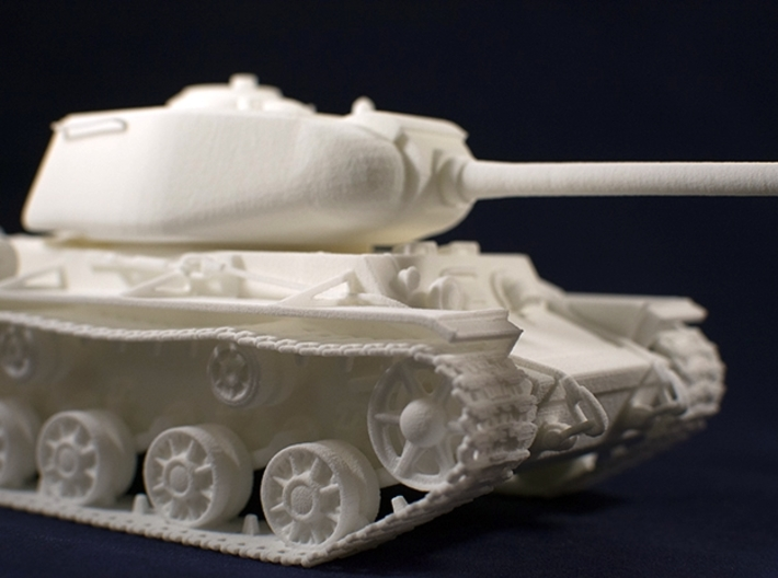 1:35 KV-1S Tank from World of Tanks game  3d printed Photo of printed model