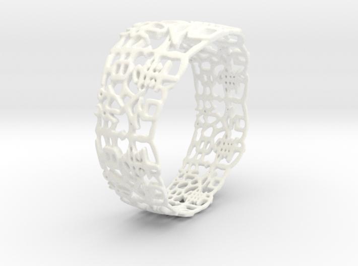 PAN Bracelet D64 RE115s1A10m25M45FR041-plastic 3d printed