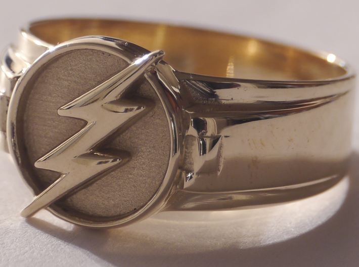 Flash Ring Size 16 24.64mm  3d printed