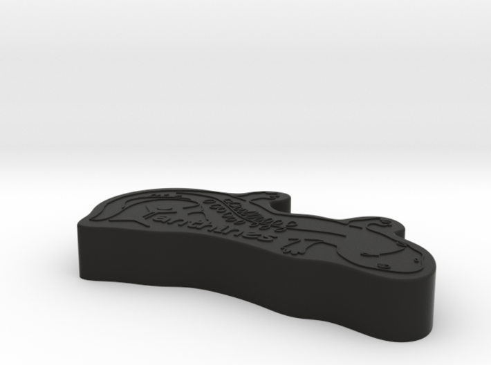Cookie Cutter Chinese Salamandra 3d printed