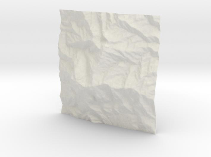 3''/7.5cm Mt. Kinabalu, Malaysia 3d printed