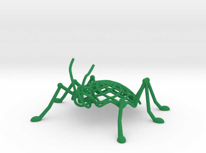 Spiro Insect 3d printed
