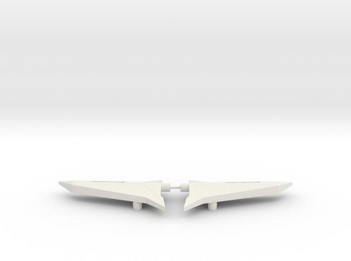 Sideways Wings 3d printed