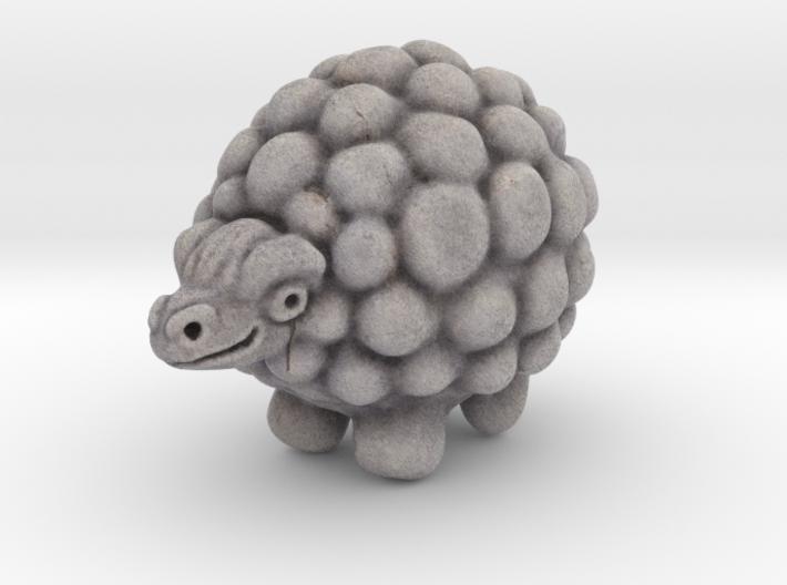 stone sheep 3d printed