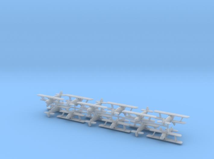 1/300 Avia B-534 (x12) 3d printed