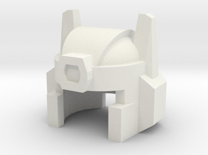 Robohelmet: Close-up 3d printed