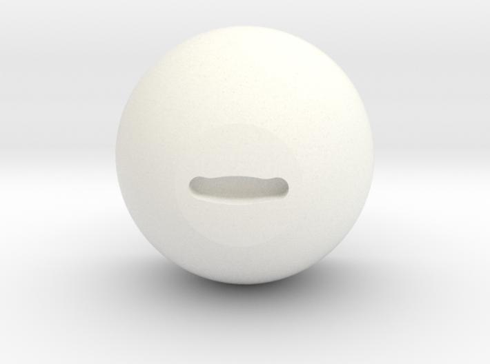 "Goat Eye ""Human Size"" inner core 3d printed"