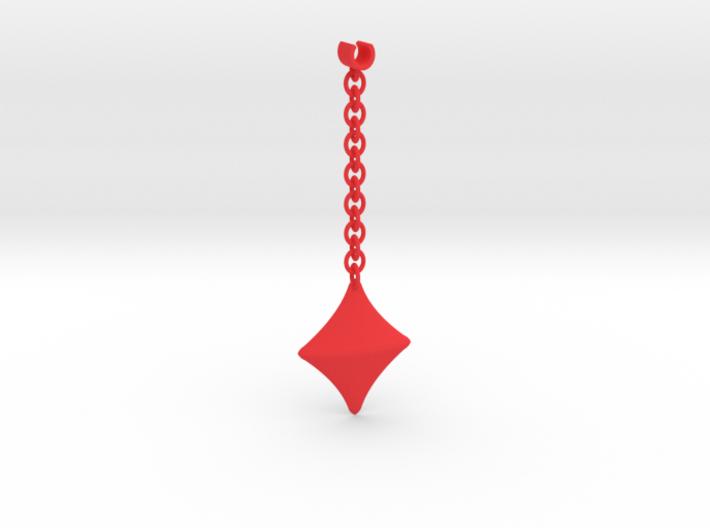 Earpod Earrings | Diamonds ♢ 3d printed