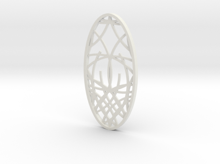 Ornament 02d 3d printed