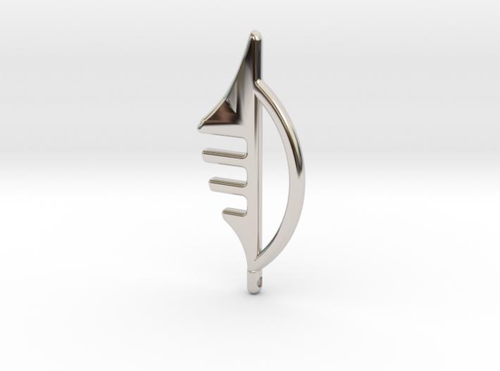 Line Jewlery Design Number 3 3d printed
