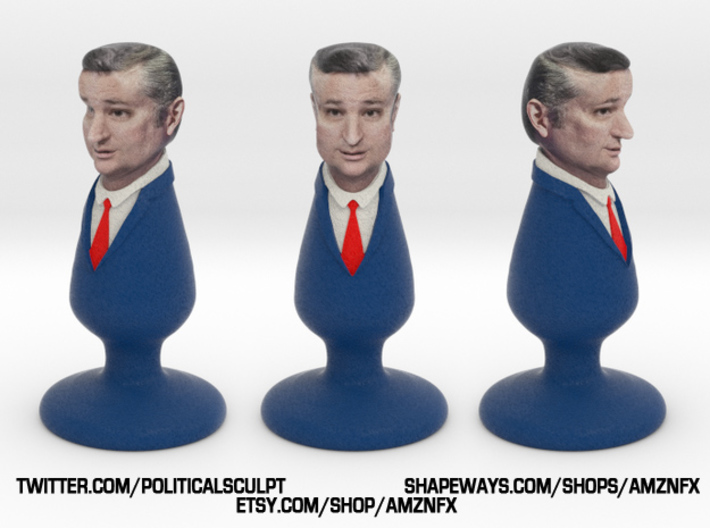 Ted Cruz Plug 3d printed