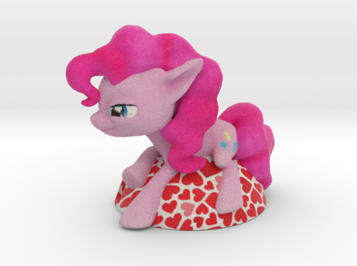 My Little Pony - Pinky Pie Card Holder 3d printed