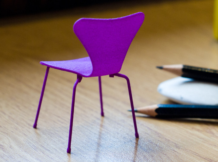 Series 7 Style Chair 1/12 Scale 3d printed